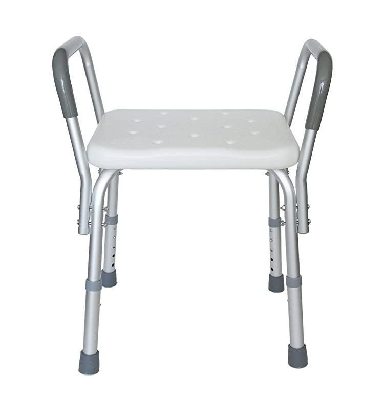 MedMobile? Heavy Duty Bath Bench with Removable Armrests