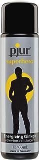 pjur superhjälte glid – Stimuliserande glidgel med ginkgo – effektiv och stimulerande – för alla män som vill ha mer – 1-p...