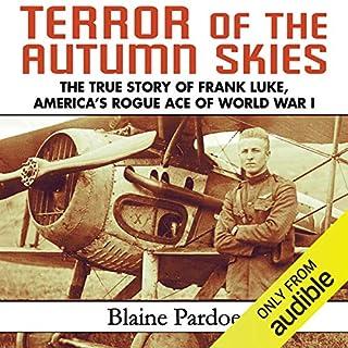Terror of the Autumn Skies audiobook cover art