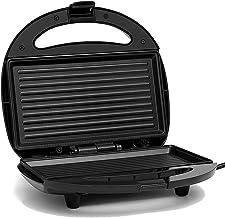 Elektrische mini-sandwichmaker grill panini anti-aanbakpan wafel broodrooster cake ontbijtmachine barbecue steak oven EU