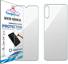 TangoDeal Nano Glass Front And Back Screen Guard Protector 9H Hardness For Micromax Canvas Blaze 4G Q400