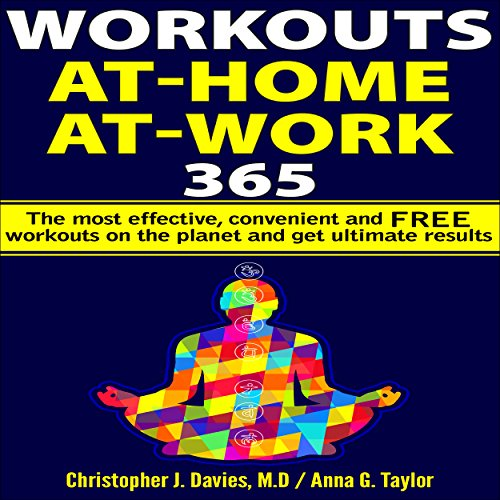 Workouts: At-Home at-Work 365 audiobook cover art