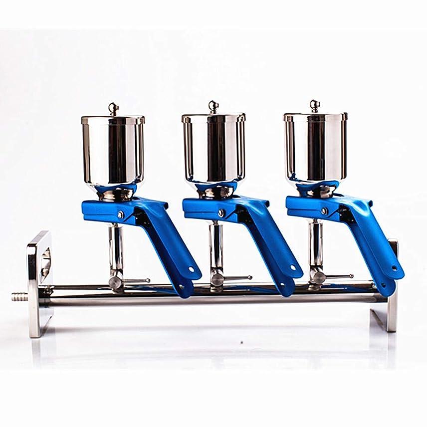 聴衆グローバル作るMXBAOHENG多連濾過器 フィルター 3連式 ステンレス316L化学分析 生物化学 化学研究 環境検査測定 水質分析 食品 飲料 実験室など業務用