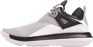 Jordan Nike Kids Fly 89 BG, Wolf Grey/Wolf Grey-Black
