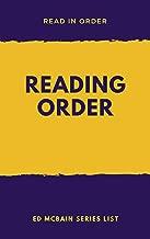 READING ORDER: ED McBAIN