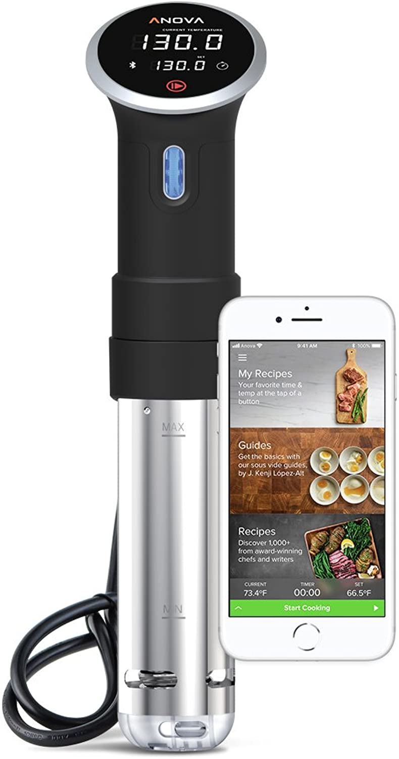 Anova Culinary Sous Vide Precision Cooker   blueetooth   800W   Anova App Included