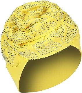 COMVIP Mujeres Se/ñora musulm/án floral Beanie bufanda de la cabeza del turbante del casquillo Hijib Wrap