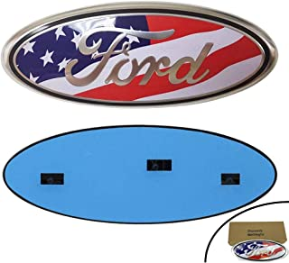 Shenwinfy Front Tailgate Emblem for 04-14 F150 F250 F350 Ford, Oval 9
