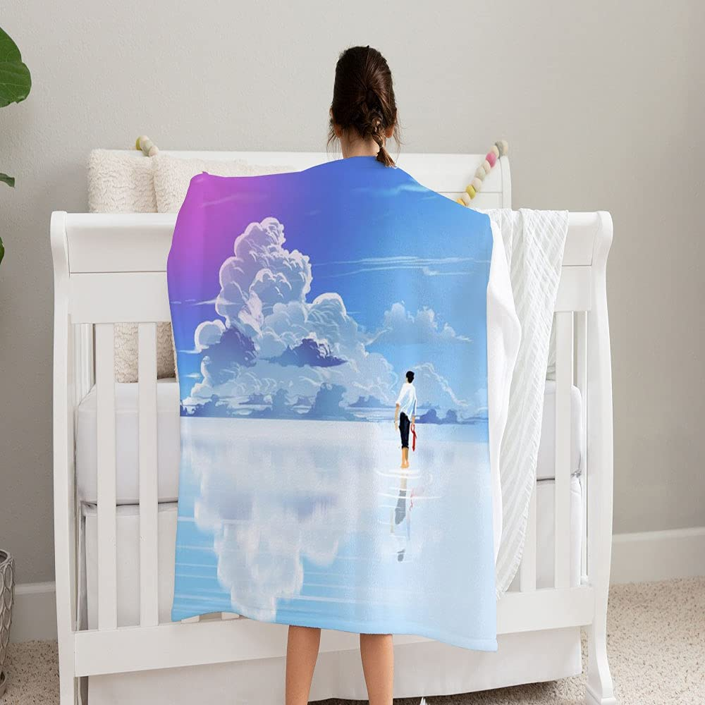 LPVLUX Digital Art Painting Businessman Wholesale Limited price Blanket by Walking Supe