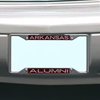NCAA Arkansas Razorbacks License Plate Frame Alumni