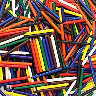 Premium Crayons Bulk Case of 270 (9 Colors) for Crafting NO Paper Wrapper Safety Tested Compliant with ASTM D-4236!