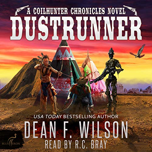 Page de couverture de Dustrunner - A Science Fiction Western Adventure