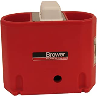 Brower MPO6E 6-Gallon Heated Poly Waterer, Red