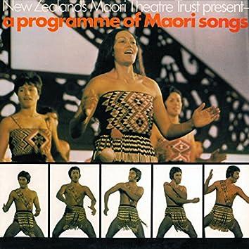 A Programme of Māori Songs