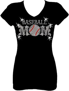 baseball mom shirts with bling