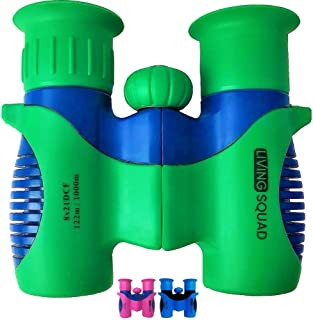 Binoculars for Kids 8x21 High-Resolution - Kids Binoculars Gift Set for Boys & Girls, Shockproof & Compact for Bird Watching, Travel, Hiking, Camping, Hunting, Children Outdoor Gear