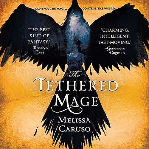 The Tethered Mage audiobook cover art