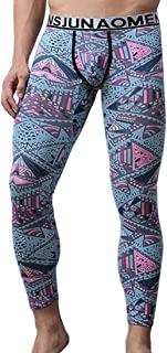Fulision Men's Compression Tight Sports Leggings Yoga Cool Fitness Pants