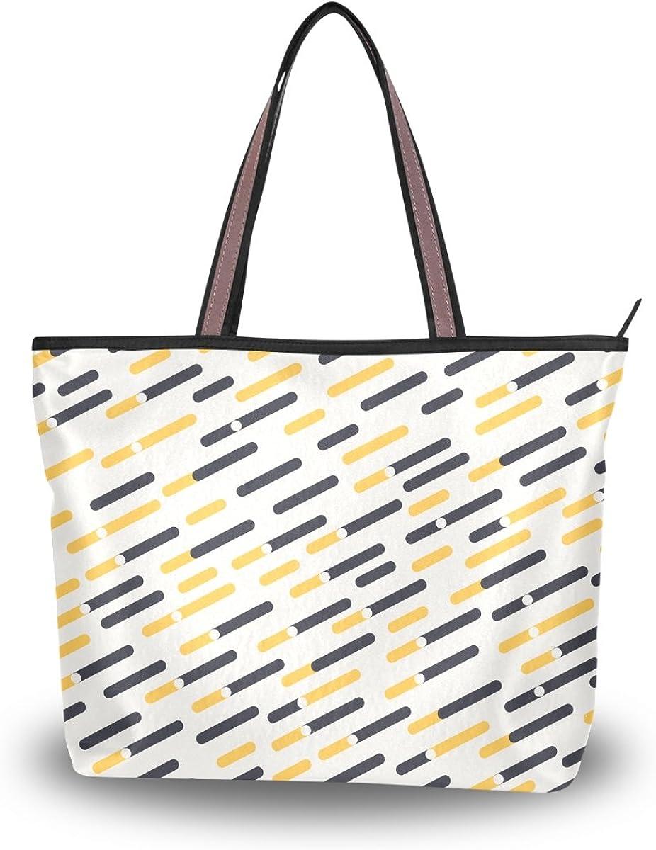 JSTEL Women Large Tote Top Handle Shoulder Bags ³éÏó Patern Ladies Handbag