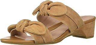 Taryn Rose Women's Nanette Heeled Sandal, doe, 6.5 M M US