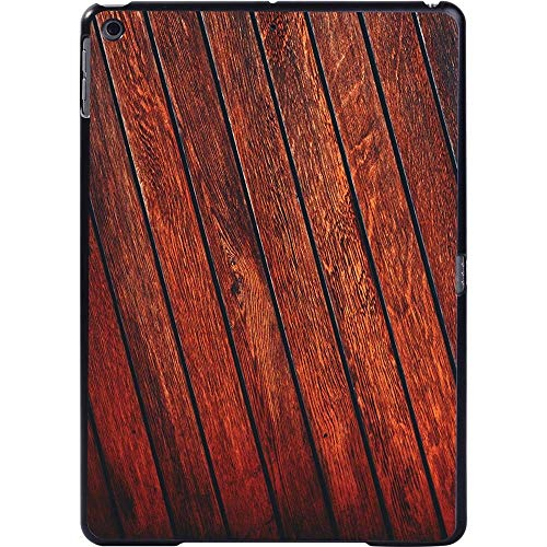 CRFYJ New Simple Wood Pattern Tablet Case for Apple IPad/IPad Mini/IPad Air/IPad Pro - Anti -cratch Hard ShellPlastic Back Cover (Color : 10.red wood plank, Size : Air 3 Pro 2nd 10.5)
