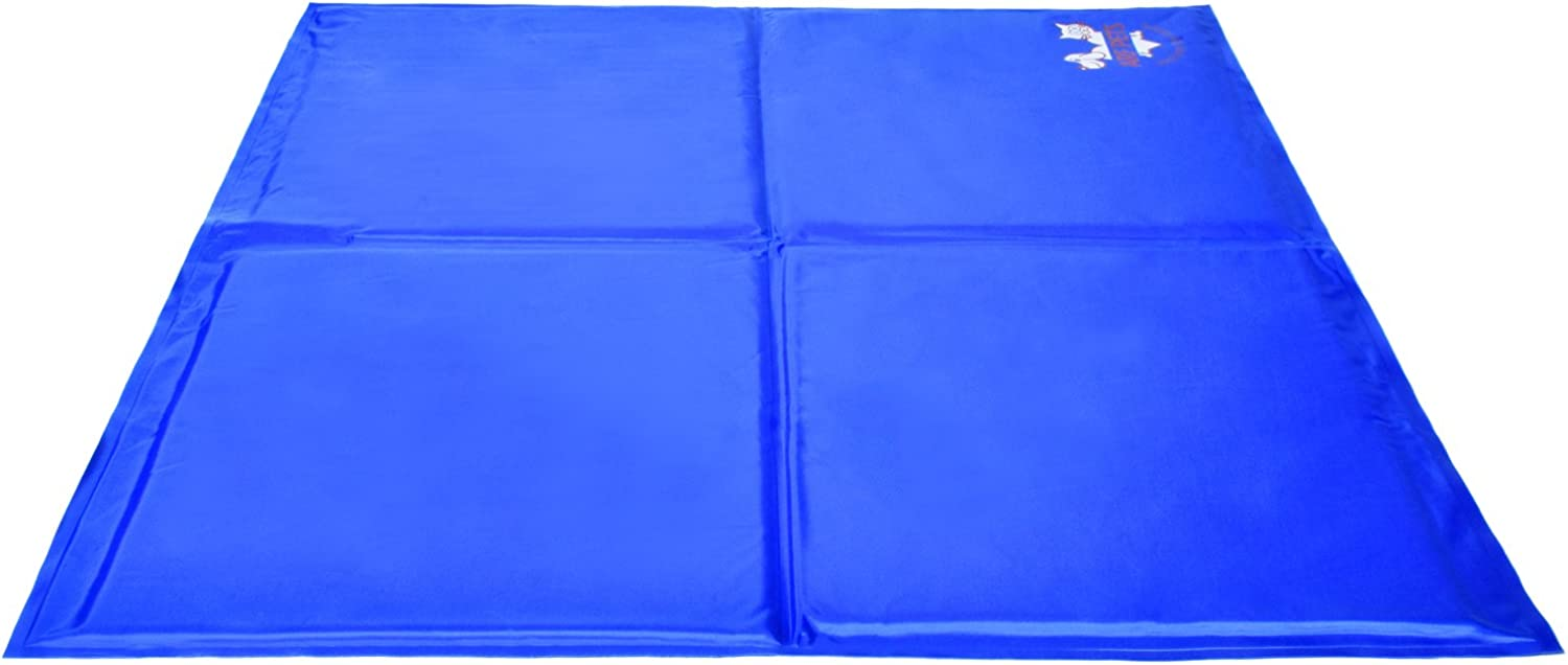 Pet Dog Self Cooling Mat Pad for Kennels, Crates and Beds  Arf Pets