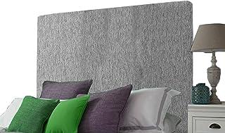 H-Cube Meble gruba wyściełana podstawa łóżka Divan zagłówek tkanina szenilowa montowana na ścianie różne wysokości i kolor...