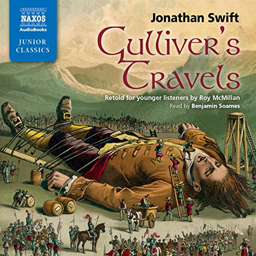 Gulliver's Travels: Retold for Younger Listeners audiobook cover art