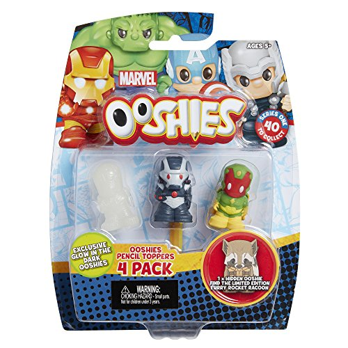 Ooshies Teenage Mutant Ninja Turtles 4-PACK WAVE 1 MIX 2 matita topper Figure