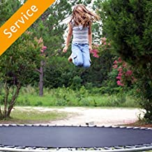Outdoor Trampoline Assembly - With Enclosure
