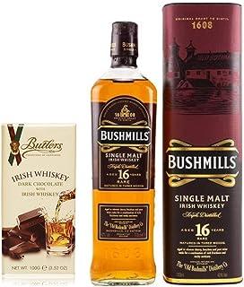 Bushmills 16 Jahre irischer Single Malt Whiskey  Irish Dark Chocolate