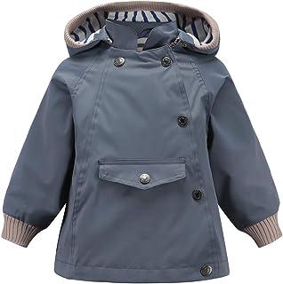 ACESTAR Waterproof Rain Jacket Coat Windbreaker,Spring Fall Lightweight Windproof Raincoat for Boys Girls Outwear
