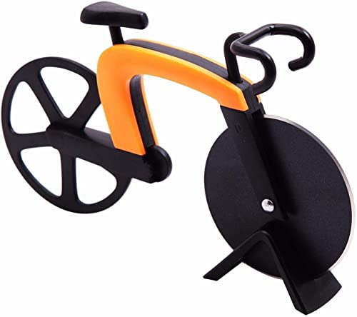 popular G.a lowest high quality HOMEFAVOR Pizza Cutter Pizza Slicer Wheel Cute Design With Kickstand outlet online sale