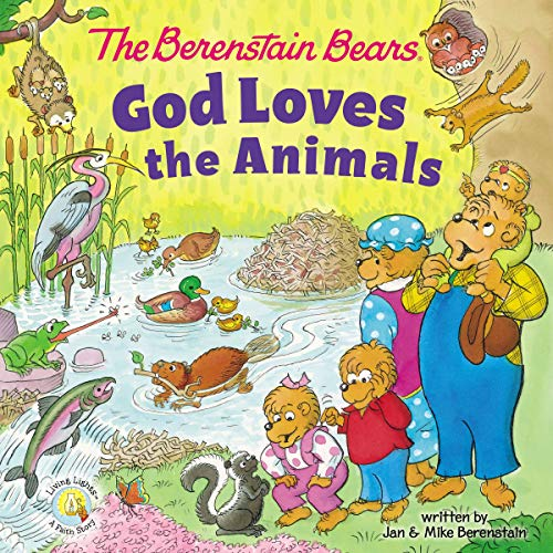 The Berenstain Bears God Loves the Animals (Berenstain Bears/Living Lights: A Faith Story) (English Edition)