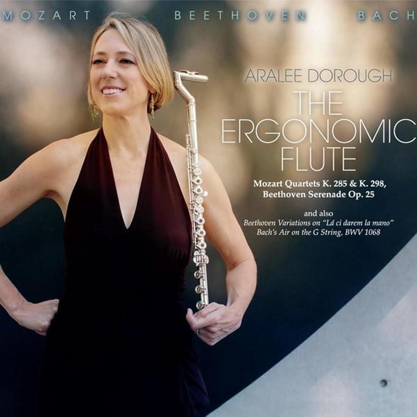The Ergonomic Flute: Mozart Quartets K. 285 & K. 298, Beethoven Serenade Op. 25