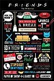 Friends - Infographic - Poster - Filmposter - Grösse