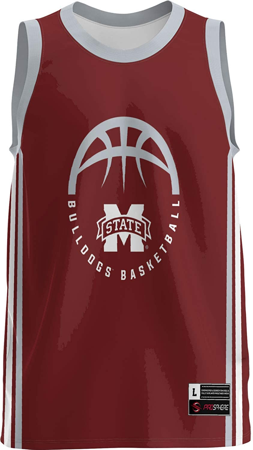 trend rank Mississippi State University Jersey Max 88% OFF Boys' Basketball