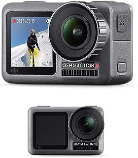DJI Osmo Action + Care Refresh   Action Cam Digitale + Versicherung, Actionkamera mit 2 Bildschirmen 11m wasserdicht 4K HDR Video 12MP 145° Winkelobjektiv Kamera 1