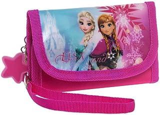 10 cm, Disney Porte Monnaie Forever Sisters la Reine des Neiges Multicolore