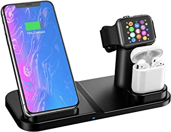 Aphqua 3 in 1 Wireless Charger Station Stand