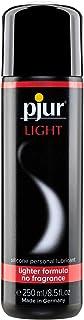 pjur LIGHT - Silikonbaserad glid- & massagegel - lätt formulering för extra lång glidförmåga och härliga sexlekar (250ml)