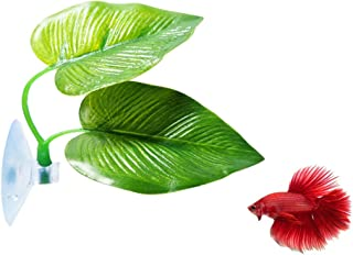 CousDUoBe Betta Fish Leaf Pad – Improves Betta's Health by Simulating The..