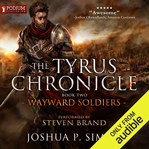Wayward Soldiers audiobook cover art