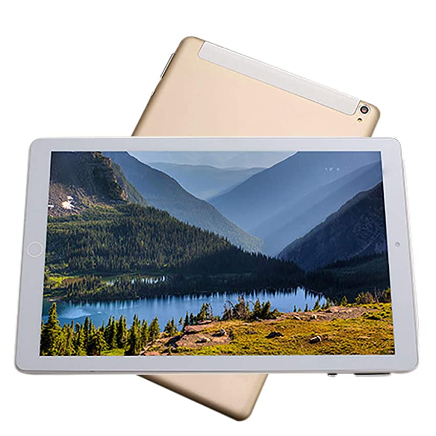"""Inkach - Laptop 10"""" Tablets PC, Computer Android Tablet 1GB RAM, 16GB ROM, 4-Core Processor WiFi Tablet Metal Shell (Gold)"""
