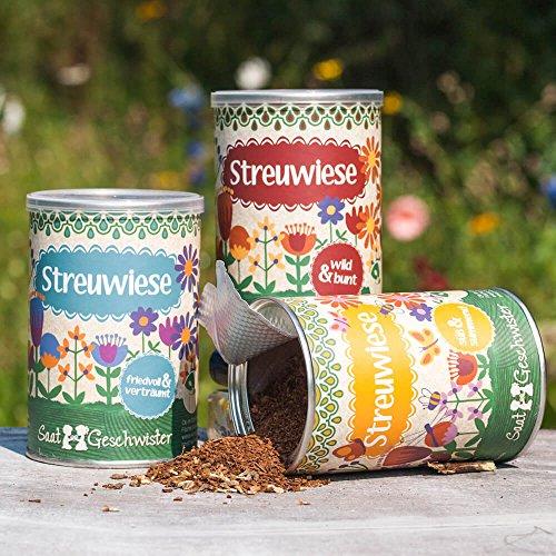 Streuwiesen von DieStadtgärtner® - Bunte Blumenmischungen, Wildblumensamen - Alle 3 Sorten zum Rabattpreis
