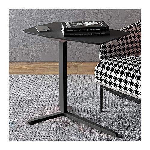 Mobiler Laptop Tisch Sofa Seite Laptop Notebook Schreibtisch PC Ständer höhenverstellbar, Tage Überbetttisch (Farbe: Rot)