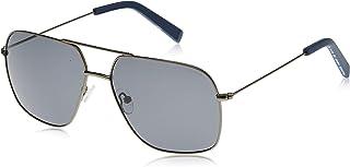 نظارة شمسية للرجال من نوتيكا، باللون الاسود، 60 ملم، طراز N4640SP