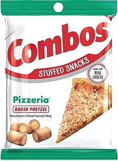 COMBOS Pizzeria Pretzel Baked Snacks 6.3-Ounce Bag (Pack of 12)