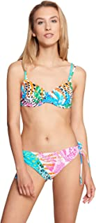 Rösch Beach 1215541-16364 Women's Multicolor Leaves Bikini Set