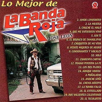 Lo Mejor de la Banda Roja de Jose Leon